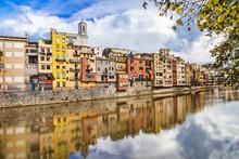 Girona - Colorful Town Near Barcelona, Spain