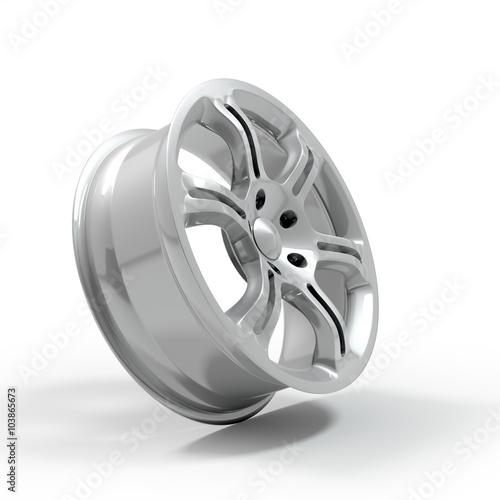 Fotografía  Aluminium Alloy rim, Car rim.