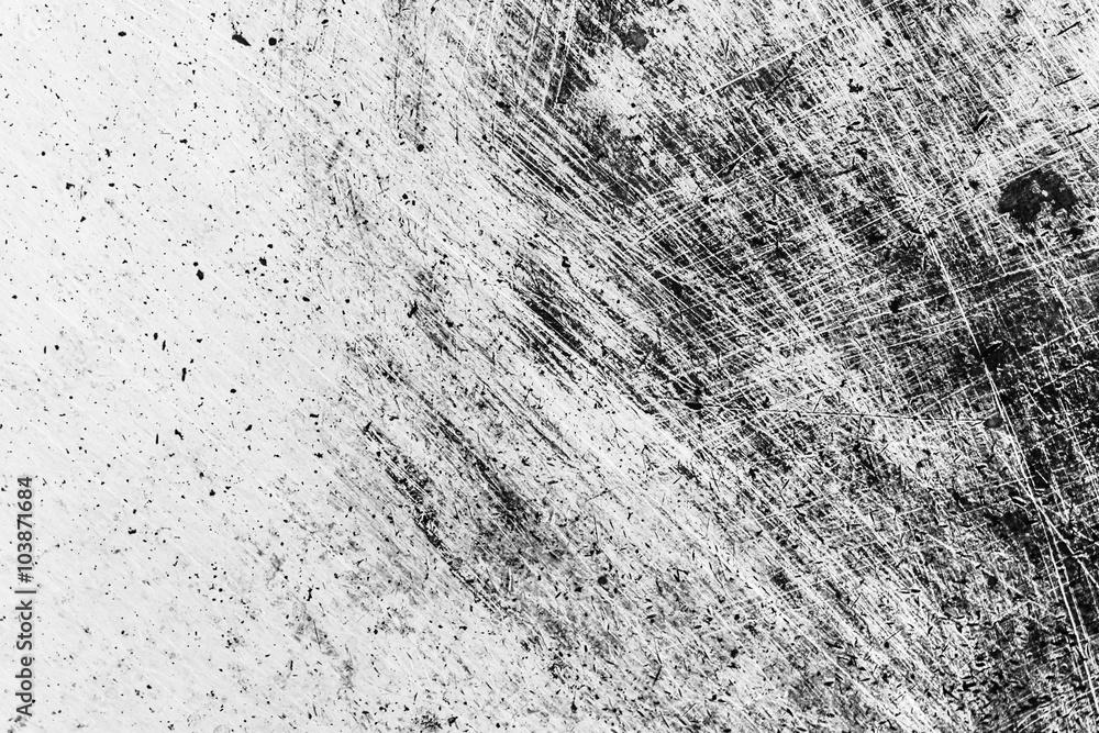 Grunge Black and White Distress Texture . Scratch Texture . Dirt