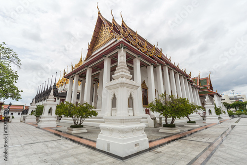 Photo  Wat Ratchanatdaram, Bangkok,  Thailand