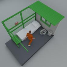 Cella Detentiva Di Guantanamo,...
