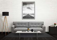 Road Picture In Vertical Art F...