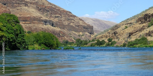 The Deschutes River in central Oregon  The river is world-renowned