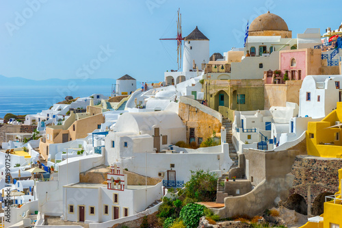 Santorini Island Greece - fototapety na wymiar