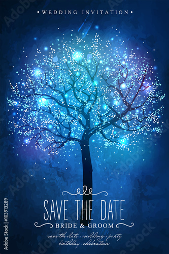 save the date inspiration card for wedding date birthday party
