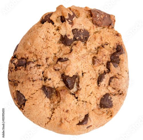 Tuinposter Koekjes Chocolate chip cookie
