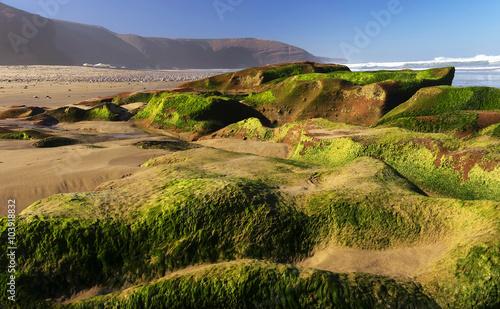 Foto op Plexiglas Marokko Legzira Beach, Morocco, Africa