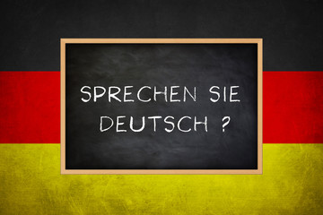 Fototapetasprechen sie deutsch - Deutsche Sprache lernen