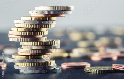 Fotografía Euro coins