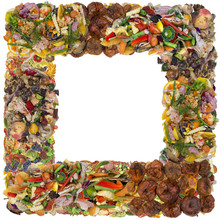 Rotten Food Photo Frame