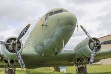 Dakota DC3 Aircraft Close Up