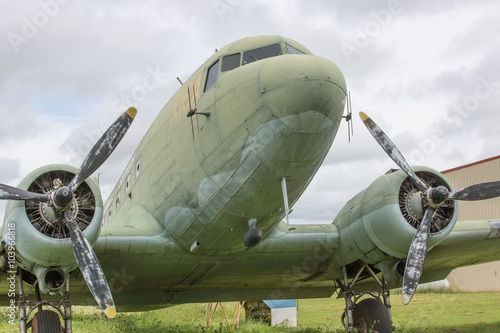Photo  Dakota DC3 Aircraft Close Up