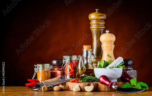 Fototapeta Food Seasoning Ingredients obraz