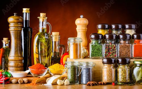 Seasoning, Spices, Seeds and Cooking Ingredients