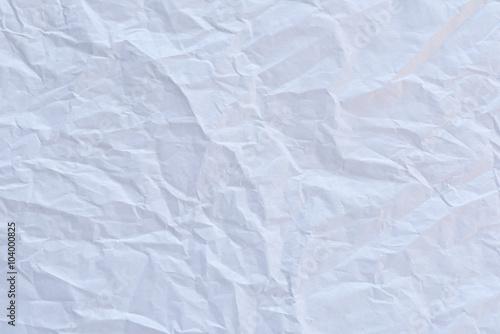 Valokuva  Ceumpled white textured