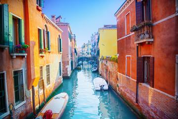 Fototapeta Kolorowe domki Venice