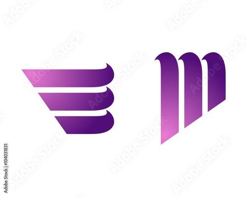 Photo  Abstract Purple Wave