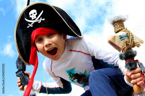 Naklejka premium pirat