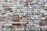 Weathered brick wall texture.
