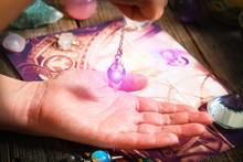 Palm Reading With Pendulum