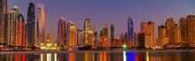 Dubai Marina Panorama Of Skysc...