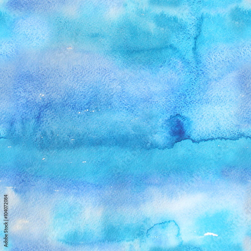 Cotton fabric Watercolor abstract illustration. Seamless pattern.