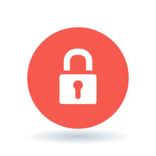 Padlock Icon. Security Lock Si...