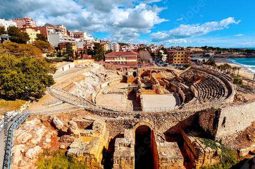 roman amphitheater of Tarragona, Spain
