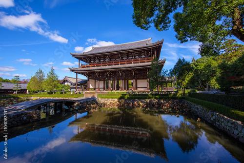 Keuken foto achterwand Seoel Sanmon - The main Gate in Tofuku-ji, Kyoto