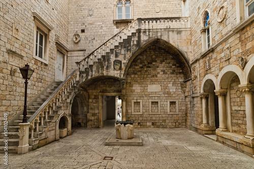 Photo Altstadt in Trogir, Kroatien