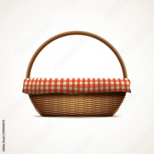 Fotografie, Obraz  Wicker basket
