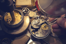 Watchmakers Craftmanship. A Wa...