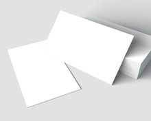 Blank Business Cards Mockup.