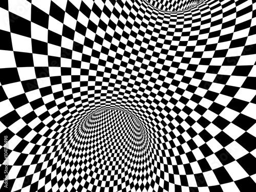Abstract illusion - 104136498