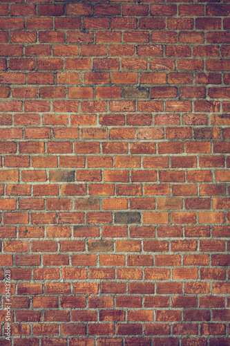 cement and brick wall texture background Canvas Print