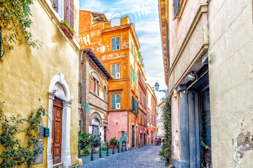 Fototapeta Architektura ancient streets and alleys of Rome