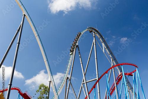 Zdjęcie XXL Roller Coaster w parku rozrywki Entartainment rozrywki