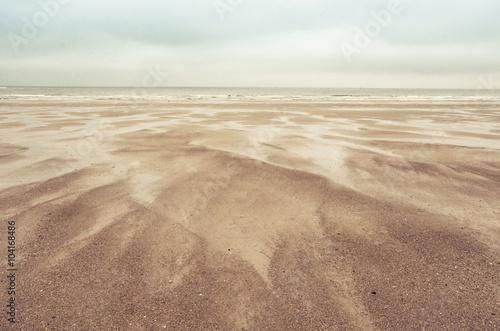sand dunes on North Sea #104168486