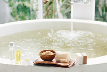 Spa Bath Compostition