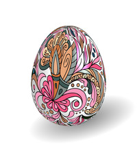 Beautiful Painted Easter Egg O...