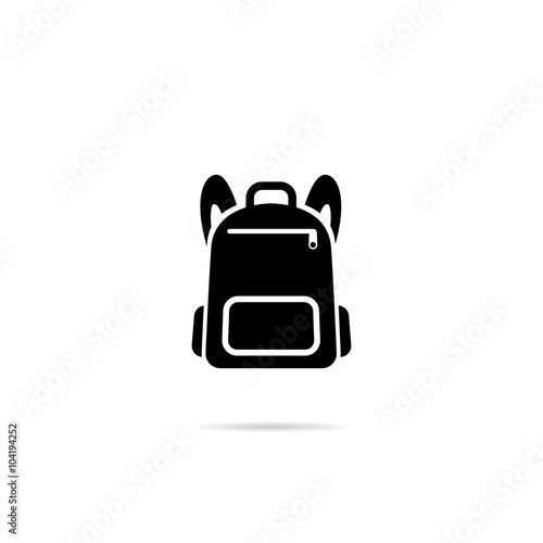 Obraz Icon Backpack. - fototapety do salonu