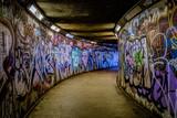 Fototapeta Teenage - Subway Graffiti