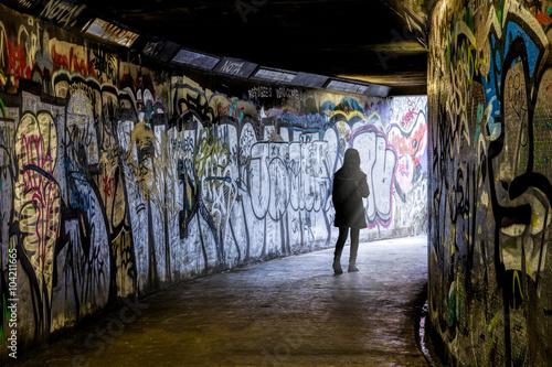 Foto op Aluminium Graffiti Subway Graffiti