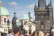 PRAGUE, CZECH REPUBLIC SEPTEMBER 19: Charles Bridge in Prague, t