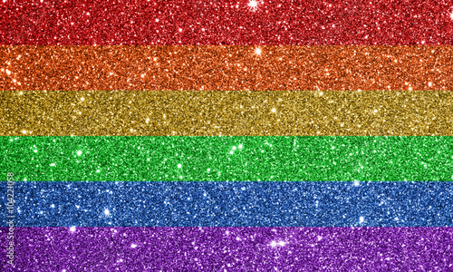 colorful glitter background texture defocused sparkling lights Canvas Print