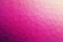 Pink Abstract Background Of Triangles Low Poly