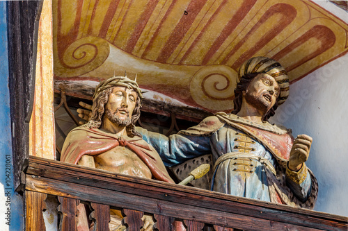Fototapeta Jesus Christ before Pontius Pilate