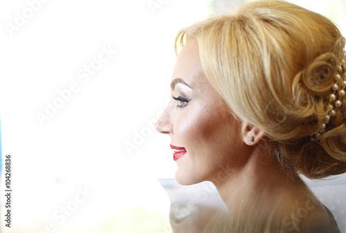 Close up of a beautiful woman