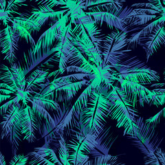 Obraz na Plexi tropical pattern 15