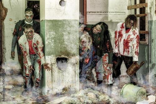 Photo  Zombie attack